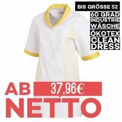 Damen -  Hosenkasack 800 von LEIBER / Farbe: weiß-gelb / 65 % Polyester 35 % Baumwolle - 1