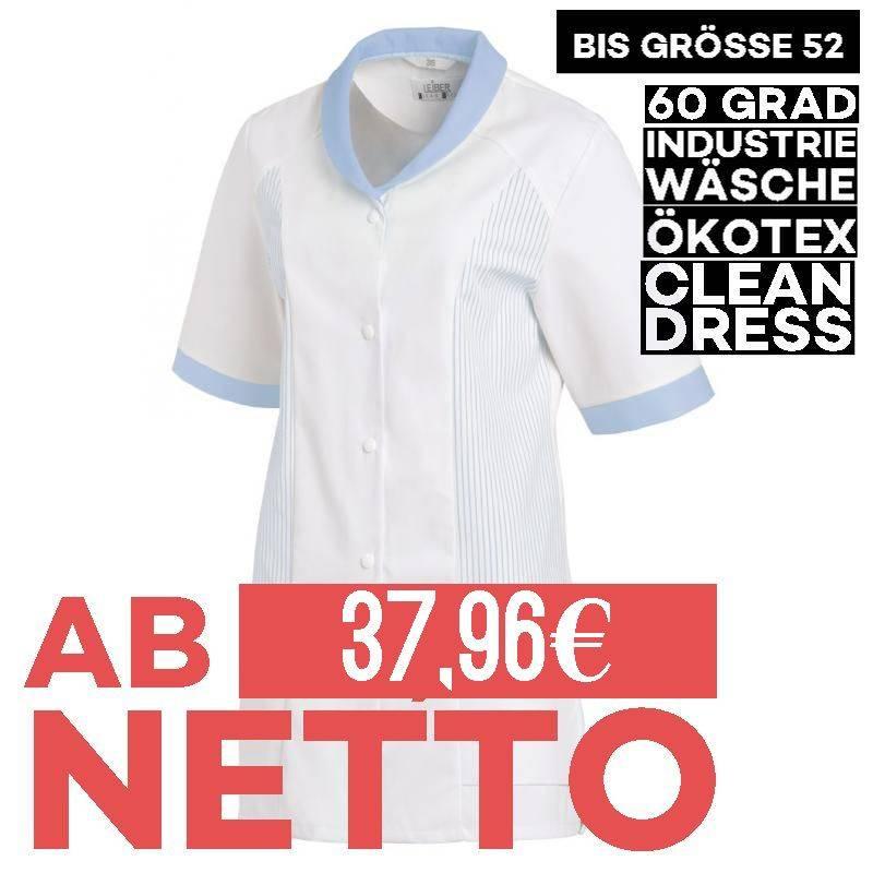Damen -  Hosenkasack 800 von LEIBER / Farbe: weiß-blau / 65 % Polyester 35 % Baumwolle - 1