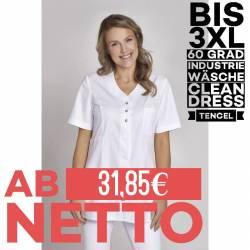 Damen - TENCEL-Kasack 1338 von LEIBER / Farbe: weiß / 50% Baumwolle, 50% Polyester - 1