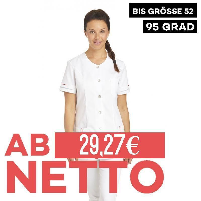 Damen -  Hosenkasack 2427 von LEIBER / Farbe: weiß / 50% Baumwolle 50% Polyester - 1