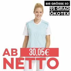 Damen -  Kasack ohne Arm 706 von LEIBER / Farbe: reseda / 65 % Polyester 35 % Baumwolle - 1