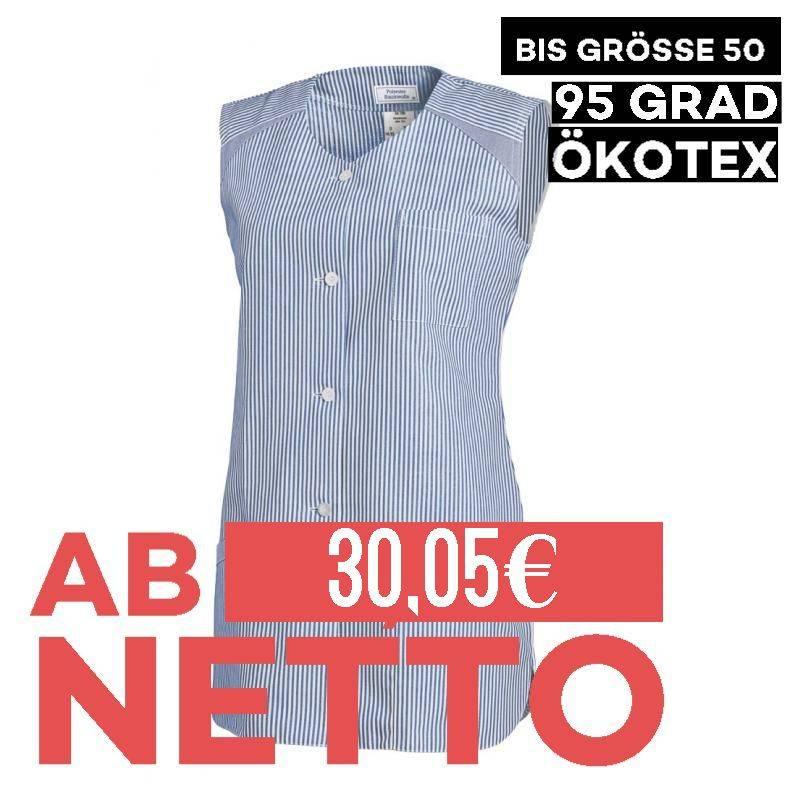 Damen -  Kasack ohne Arm 706 von LEIBER / Farbe: hellblau / 65 % Polyester 35 % Baumwolle - 1