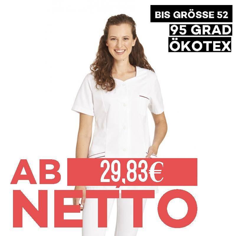 Damen -  Hosenkasack 362 von LEIBER / Farbe: weiß / 50 % Polyester 50 % Baumwolle - 1