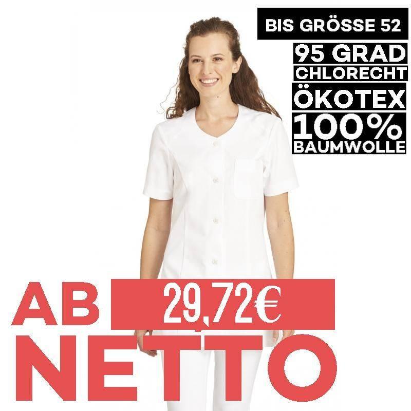 Damen -  Hosenkasack 427 von LEIBER / Farbe: weiß / 100% Baumwolle Feinköper - 1