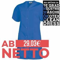 Damen -  Kasack 459 von LEIBER / Farbe: königsblau / 65 % Polyester 35 % Baumwolle - 1