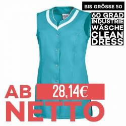 Damen -  Kasack 2759 von LEIBER / Farbe: türkis / 65 % Polyester 35 % Baumwolle - 1