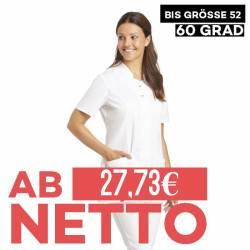 Damen -  Hosenkasack 2505 von LEIBER / Farbe: weiß / 50% Baumwolle 50% Polyester - 1