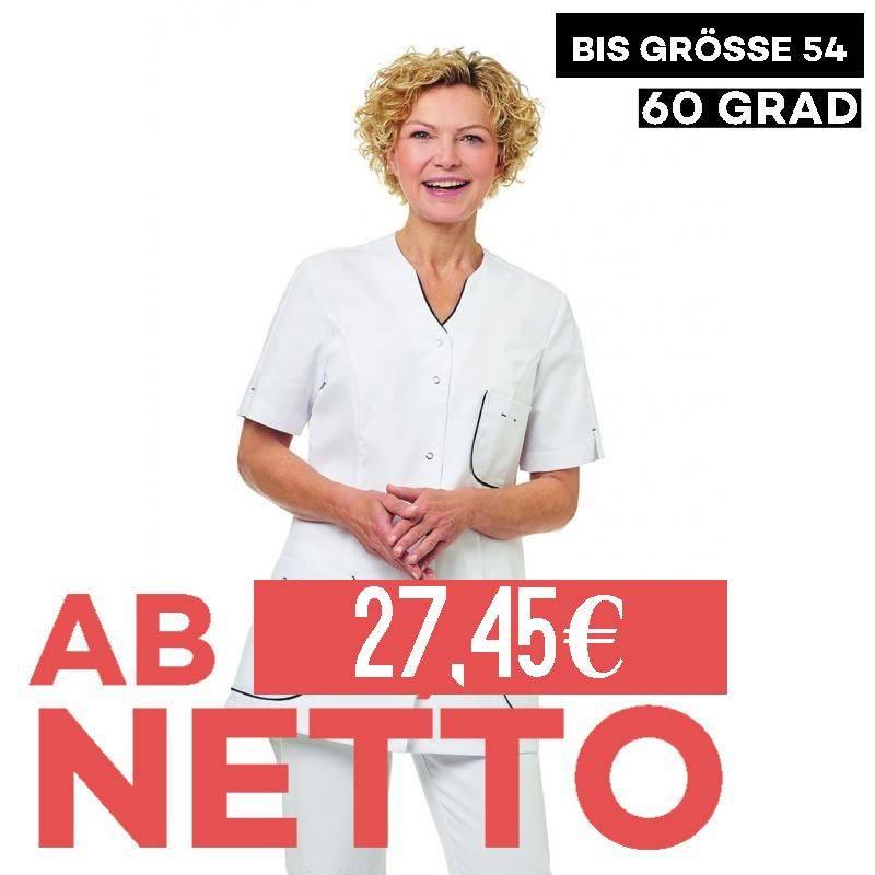 Damen -  Kasack 2739 von LEIBER / Farbe: weiß / 65 % Polyester 35 % Baumwolle - 1