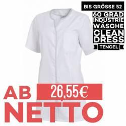 Damen - TENCEL-Kasack 1337 von LEIBER / Farbe: weiß / 50% Baumwolle, 50% Polyester -   MEIN-KASACK.de   kasack   kasacks