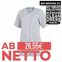 Damen - TENCEL-Kasack 1337 von LEIBER / Farbe: silbergrau / 50% Baumwolle, 50% Polyester -   MEIN-KASACK.de   kasack   k