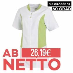 Hosenkasack 25070 von LEIBER / Farbe: weiß-hellgrün / 50 % Polyester 50 % Baumwolle - | MEIN-KASACK.de | kasack | kasack