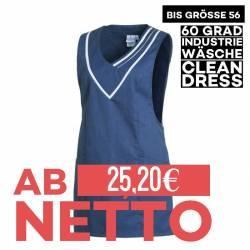 Überwurfschürze 2682 von LEIBER / Farbe: blau-weiß / 65 % Polyester 35 % Baumwolle - | MEIN-KASACK.de | kasack | kasacks