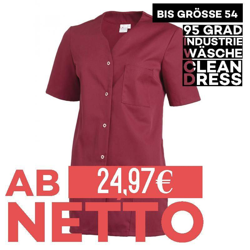 Damen -  Kasack 2549 von Leiber / Farbe: beere / 65 % Polyester 35 % Baumwolle 190 g/m² - | MEIN-KASACK.de | kasack | ka