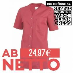 Damen -  Kasack 2549 von Leiber / Farbe: rot / 65 % Polyester 35 % Baumwolle 190 g/m² - | MEIN-KASACK.de | kasack | kasa
