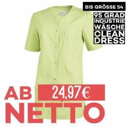Damen -  Kasack 2549 von Leiber / Farbe: hellgrün / 65 % Polyester 35 % Baumwolle 190 g/m² - | MEIN-KASACK.de | kasack |