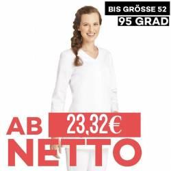 Damen -  Hosenkasack 2500 von LEIBER / Farbe: weiß / 65% Polyester 35% Baumwolle ca. 190 g/m² - | MEIN-KASACK.de | kasac