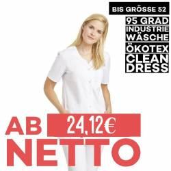 Damen -  Hosenkasack 2256 von LEIBER / Farbe: weiß / 65 % Polyester 35 % Baumwolle / 190 g/m² - | MEIN-KASACK.de | kasac
