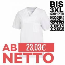 Damen -  Schlupfjacke 2732 von LEIBER / Farbe: weiß / 50% Baumwolle 50% Polyester - 1