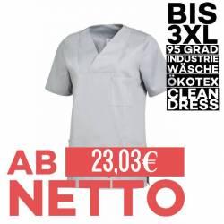 Damen -  Schlupfjacke 2732 von LEIBER / Farbe: grau / 50% Baumwolle 50% Polyester - | MEIN-KASACK.de | kasack | kasacks