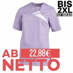Damen -  Schlupfjacke 1255 von LEIBER / Farbe: flieder / 65 % Polyester 35 % Baumwolle - | MEIN-KASACK.de | kasack | kas