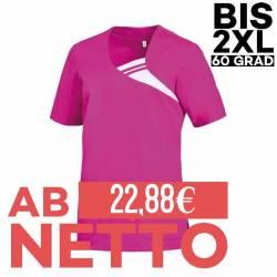 Damen -  Schlupfjacke 1255 von LEIBER / Farbe: fuchsia / 65 % Polyester 35 % Baumwolle - | MEIN-KASACK.de | kasack | kas
