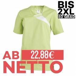 Damen -  Schlupfjacke 1255 von LEIBER / Farbe: hellgrün / 65 % Polyester 35 % Baumwolle - | MEIN-KASACK.de | kasack | ka