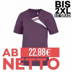 Damen -  Schlupfjacke 1255 von LEIBER / Farbe: pflaume / 65 % Polyester 35 % Baumwolle - | MEIN-KASACK.de | kasack | kas