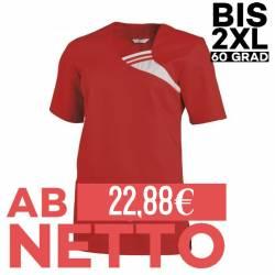 Damen -  Schlupfjacke 1255 von LEIBER / Farbe: rot / 65 % Polyester 35 % Baumwolle - | MEIN-KASACK.de | kasack | kasacks