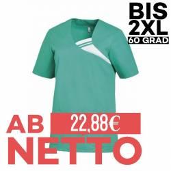Damen -  Schlupfjacke 1255 von LEIBER / Farbe: smaragd / 65 % Polyester 35 % Baumwolle - | MEIN-KASACK.de | kasack | kas