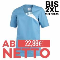 Damen -  Schlupfjacke 1255 von LEIBER / Farbe: türkis / 65 % Polyester 35 % Baumwolle - | MEIN-KASACK.de | kasack | kasa