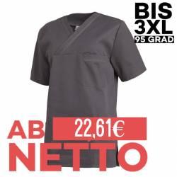 Damen - Schlupfjacke 2451 von LEIBER / Farbe: anthrazit / 65 % Polyester 35 % Baumwolle - | MEIN-KASACK.de | kasack | ka