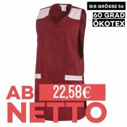 Überwurfschürze 1229 von LEIBER / Farbe: bordeaux / 65 % Polyester 35 % Baumwolle - | MEIN-KASACK.de | kasack | kasacks