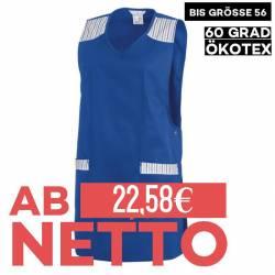 Überwurfschürze 1229 von LEIBER / Farbe: königsblau / 65 % Polyester 35 % Baumwolle - | MEIN-KASACK.de | kasack | kasack