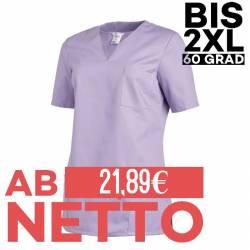 Damen -  Schlupfjacke 1249 von LEIBER / Farbe: flieder / 65 % Polyester 35 % Baumwolle - | MEIN-KASACK.de | kasack | kas