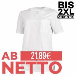 Damen -  Schlupfjacke 1249 von LEIBER / Farbe: weiß / 65 % Polyester 35 % Baumwolle - | MEIN-KASACK.de | kasack | kasack