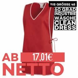 Überwurfschürze 594 von LEIBER / Farbe: rot / 65 % Polyester 35 % Baumwolle - | MEIN-KASACK.de | kasack | kasacks | kass