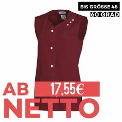 Damen -  Kasack ohne Arm 472 von LEIBER / Farbe: bordeaux / 65 % Polyester 35 % Baumwolle - | MEIN-KASACK.de | kasack |