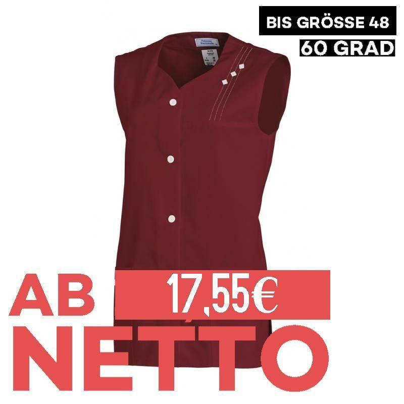 Damen -  Kasack ohne Arm 472 von LEIBER / Farbe: bordeaux / 65 % Polyester 35 % Baumwolle -   MEIN-KASACK.de   kasack  