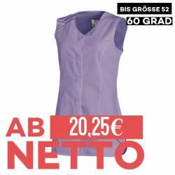 Damen -  Kasack ohne Arm 1247 von LEIBER / Farbe: flieder / 65 % Polyester 35 % Baumwolle - | MEIN-KASACK.de | kasack |