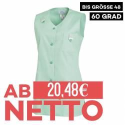 Damen -  Kasack ohne Arm 477 von LEIBER / Farbe: reseda / 65 % Polyester 35 % Baumwolle - | MEIN-KASACK.de | kasack | ka