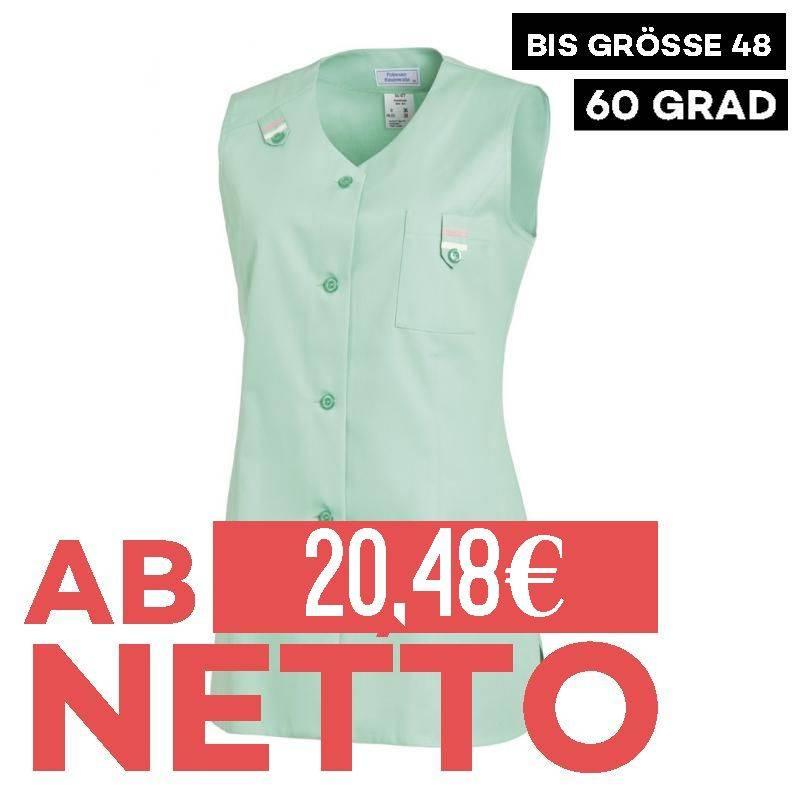 Damen -  Kasack ohne Arm 477 von LEIBER / Farbe: reseda / 65 % Polyester 35 % Baumwolle -   MEIN-KASACK.de   kasack   ka