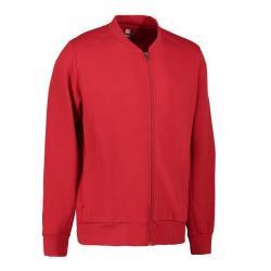 PRO Wear Cardigan Herren 366 von ID / Farbe: rot / 60% BAUMWOLLE 40% POLYESTER - | Wenn Kasack - Dann MEIN-KASACK.de | K