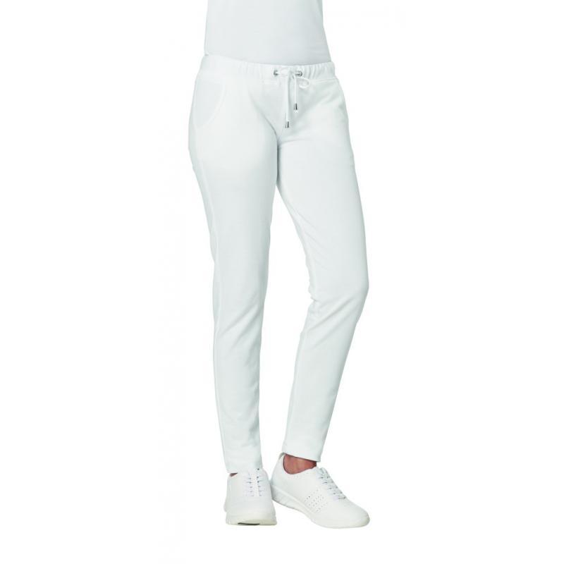 c18612d5eccfd Damen-Sweathose 7560 von LEIBER / Farbe: weiß / 95 % Baumwolle 5% Elasthan  Farbe Weiß Größen - DE 32