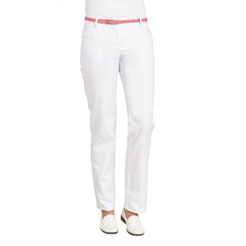Damenhose 6970 von LEIBER / Farbe: weiß / 65 % Polyester 35 % Baumwolle - | Wenn Kasack - Dann MEIN-KASACK.de | Kasacks