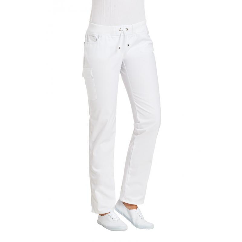 Damenhose 6980 von LEIBER / Farbe: weiß / 48 % Polyester 48 % Baumwolle 4 % Elastolefin - | Wenn Kasack - Dann MEIN-KASA