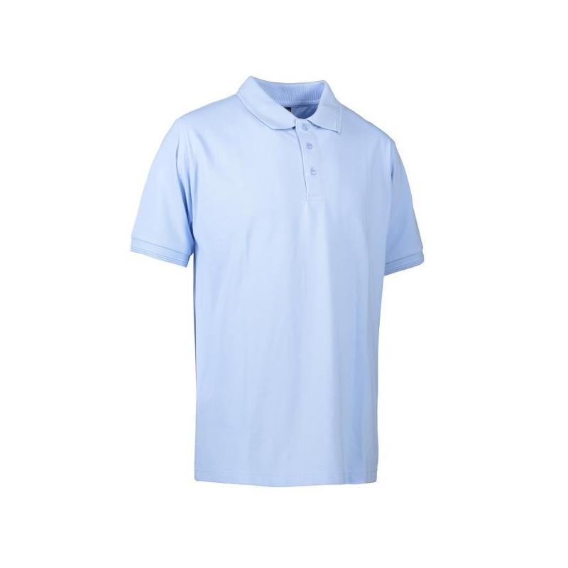 PRO Wear Herren Poloshirt | ohne Tasche 324 von ID / Farbe: hellblau / 50% BAUMWOLLE 50% POLYESTER - | Wenn Kasack - Dan