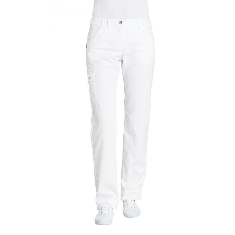 Damenhose 1140 von LEIBER / Farbe: weiß / 50 % Baumwolle 50 % Polyester - | Wenn Kasack - Dann MEIN-KASACK.de | Kasacks