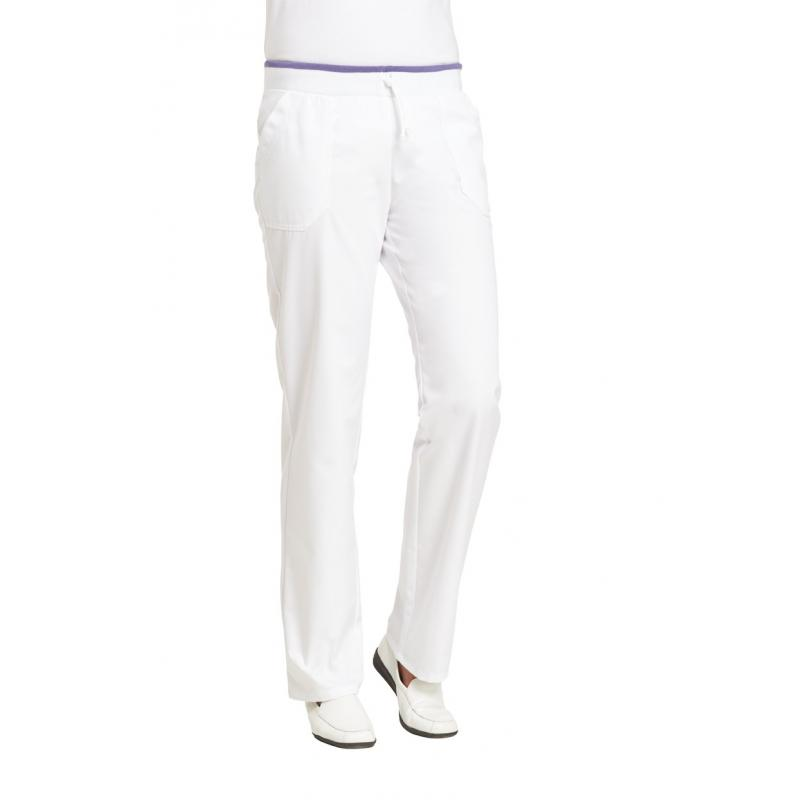 Damenhose 1070 von LEIBER / Farbe: weiß / 50 % Baumwolle 50 % Polyester - | MEIN-KASACK.de