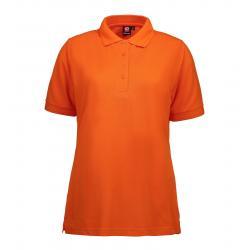 PRO Wear Damen Poloshirt 321 von ID / Farbe: orange / 50% BAUMWOLLE 50% POLYESTER -   MEIN-KASACK.de