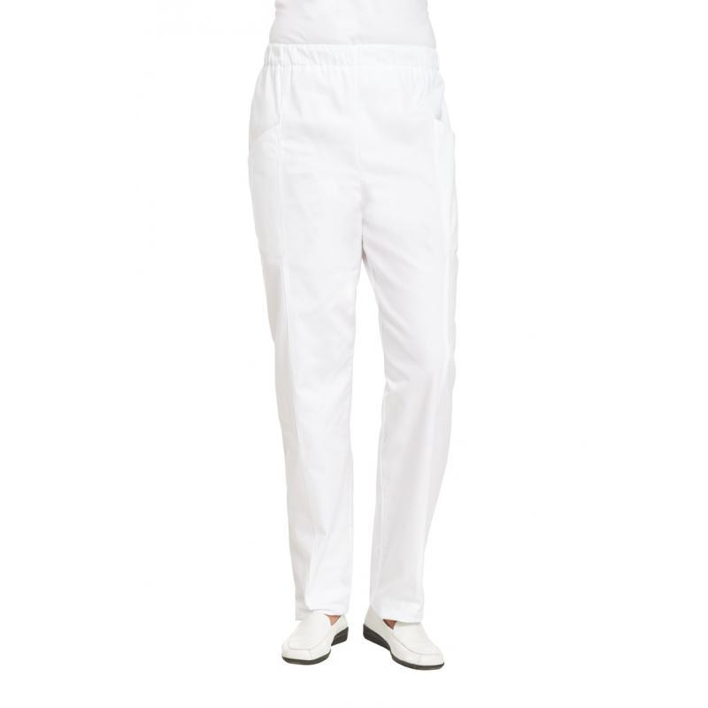 Damenhose 1400 von LEIBER / Farbe: weiß / 100 % Baumwolle Feinköper - | Wenn Kasack - Dann MEIN-KASACK.de | Kasacks für